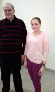 Н. Павлюк із Є. Захаровим